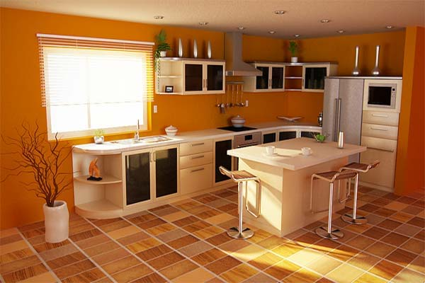 Inspiration-Orange-Color-Kitchen-Theme